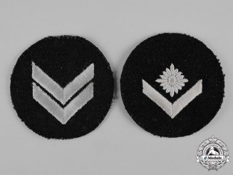 Germany, HJ. A Pair of Marine Rank Insignia