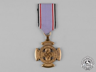 Germany, RLB. A Reich Air Protection League (RLB) I Class Honour Cross