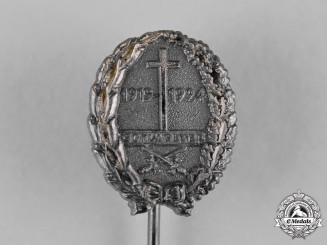 Germany, Weimar Republic. A Schlageter 5-Year Memorial Badge Stick Pin by Paul Küst