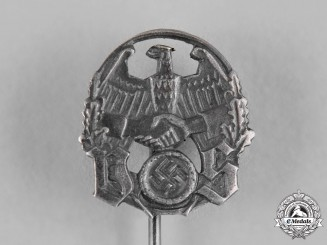 Germany, Third Reich. A Saar Reunification Propaganda Stick Pin