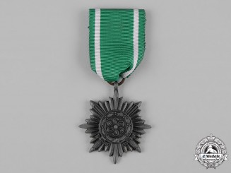 Germany, Wehrmacht. An Eastern People's Medal, II Class in Silver with Swords