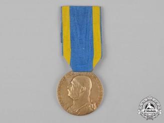 Saxe-Altenburg, Duchy. A Duke Ernst Medal, Gold Grade, by M. Haseroth