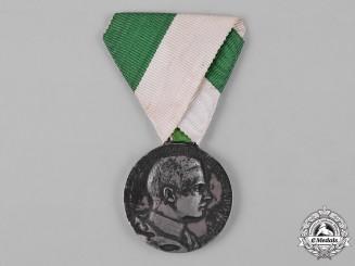 Saxe-Coburg and Gotha, Duchy. A Duke Carl Eduard Medal, by Max von Kawaczynski, c.1910