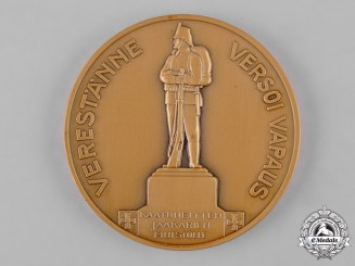 Finland, Republic. A Finnish Independence Table Medal