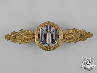 Germany, Luftwaffe. A Bomber Pilot's Clasp, Gold Grade