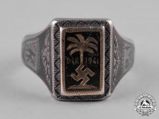 Germany, DAK. A 1941 Afrika Korps (DAK) Ring