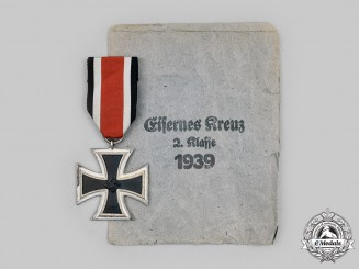 Germany, Wehrmacht. A 1939 Iron Cross II Class, Lug Variant, by Klein & Quenzer