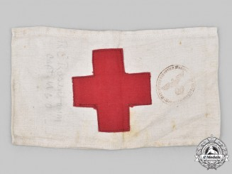 Germany, DRK. A German Red Cross Member's Armband