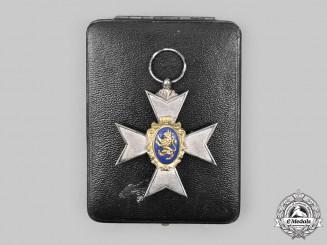 Schwarzburg-Rudolstadt, Principality. An Honour Cross, III Class with Case, by Bury & Leonhard
