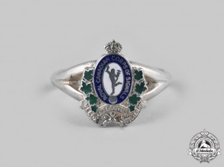 Canada. A Second War Royal Canadian Corps of Signals Ladies Sweetheart Ring