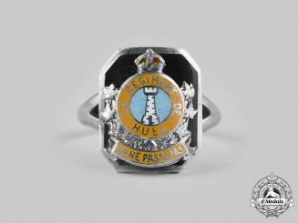 Canada. A Second War Le Regiment de Hull Ladies Sweetheart Ring