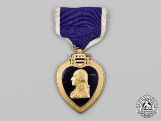 United States. A Second World War Numbered Purple Heart