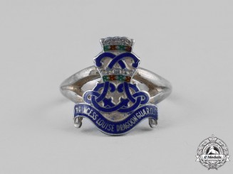 Canada. A Second War Princess Louise Dragoon Guards Ladies Sweetheart Ring