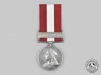 Canada, United Kingdom. A Canada General Service Medal 1866-1870, 37th (Haldimand Rifles) Battalion