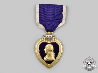 United States. A Second World War Numbered Purple Heart by Rex Products, 1942.