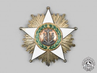 Liberia. An Order of African Redemption, Knight Commander Star, by G Wolfers c. 1960