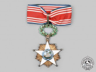 Liberia. An Order of African Redemption, Knight Commander by A. Chobillon, c. 1950
