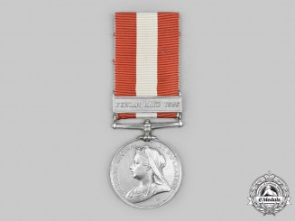 Canada, United Kingdom. A Canada General Service Medal 1866-1870, Quebec Provisional Battalion