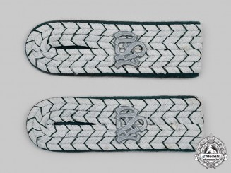 Germany, Third Reich. A Set of Customs Service Oberzollsekretar Shoulder Boards