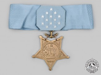 United States. A Navy Medal of Honor, c. 1960