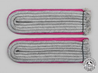 Germany, Heer. A Set of Heer Panzer Leutnant Shoulder Boards