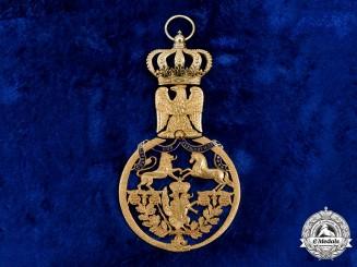 Westphalia, Kingdom. An Order of the Crown of Westphalia, Grand Commander in Gold, c.1810