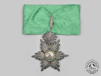 Iran, Pahlavi Empire. An Order of the Sun and Lion, III Class Commander, c.1910