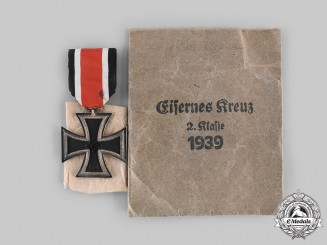 Germany, Wehrmacht. A 1939 Iron Cross II Class, by Alois Rettenmeyer