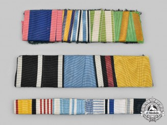 Germany, Imperial. A Lot of Medal Ribbon Bars