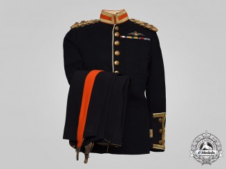 South Africa. A Pre-World War II Air Force (SAAF) Dress Uniform, Colonel Sir P. van Ryneveld