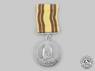 Lithuania, Republic. An Order of Grand Duke Gediminas, II Class Silver Grade Merit Medal