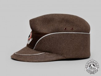 Germany, RAD. A Reich Labour Service Officer's Service Cap, by Mayser
