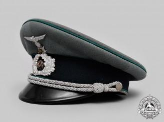 Germany, Heer. A Gebirgsjäger Officer's Visor Cap, by Erel