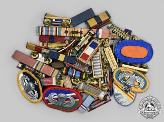 United States. A Lot Sixty Military Badges