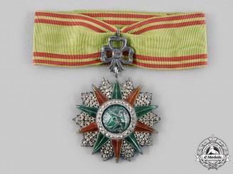 Tunisia, French Tunisia. An Order of Glory, III Class Commander, III Model, c.1950