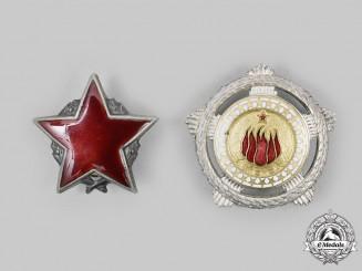 Yugoslavia, Socialist Federative Republic. Two Second Class Awards
