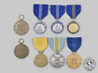 United States. A Lot of Eight Civilian Awards