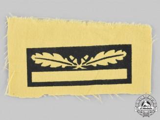 Germany, Heer. A Generalmajor Arm Insignia