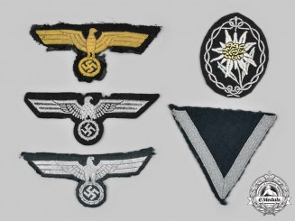 Germany, Wehrmacht. A Lot of Uniform Insignia