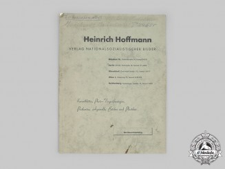 Germany, Third Reich. A Catalogue of Photos and Postcards of A.H. and Other High Ranking NSDAP Leaders