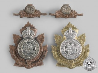 Canada. Four Cape Breton Highlanders Badges