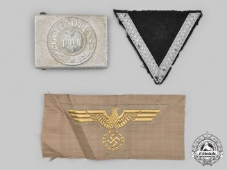 Germany, Wehrmacht. A Lot of Uniform Insignia and Accessories