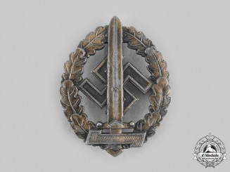 Germany, SA. A SA Sports Badge for War Wounded, by Werner Redo