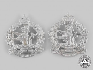 Canada. Two Lorne Scots (Peel, Dufferin and Halton Regiment) Glengarry Badges