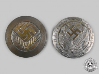 Germany, RADwJ. A Pair of Reich Labour Service of Female Youth Badges