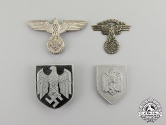 Germany. A Grouping of Third Reich Period German Insignia