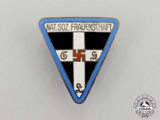 Germany. An Orts Level National Socialist Women's League Membership Badge