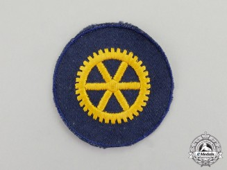Germany. A Third Reich Period Kriegsmarine Naval Engineer Trade Patch