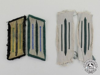 Germany. A Grouping of Wehrmacht NCO's General Issue Collar Tabs