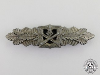 Germany. A Bronze Grade Combat Clasp by Funke & Brüninghaus; Published Example